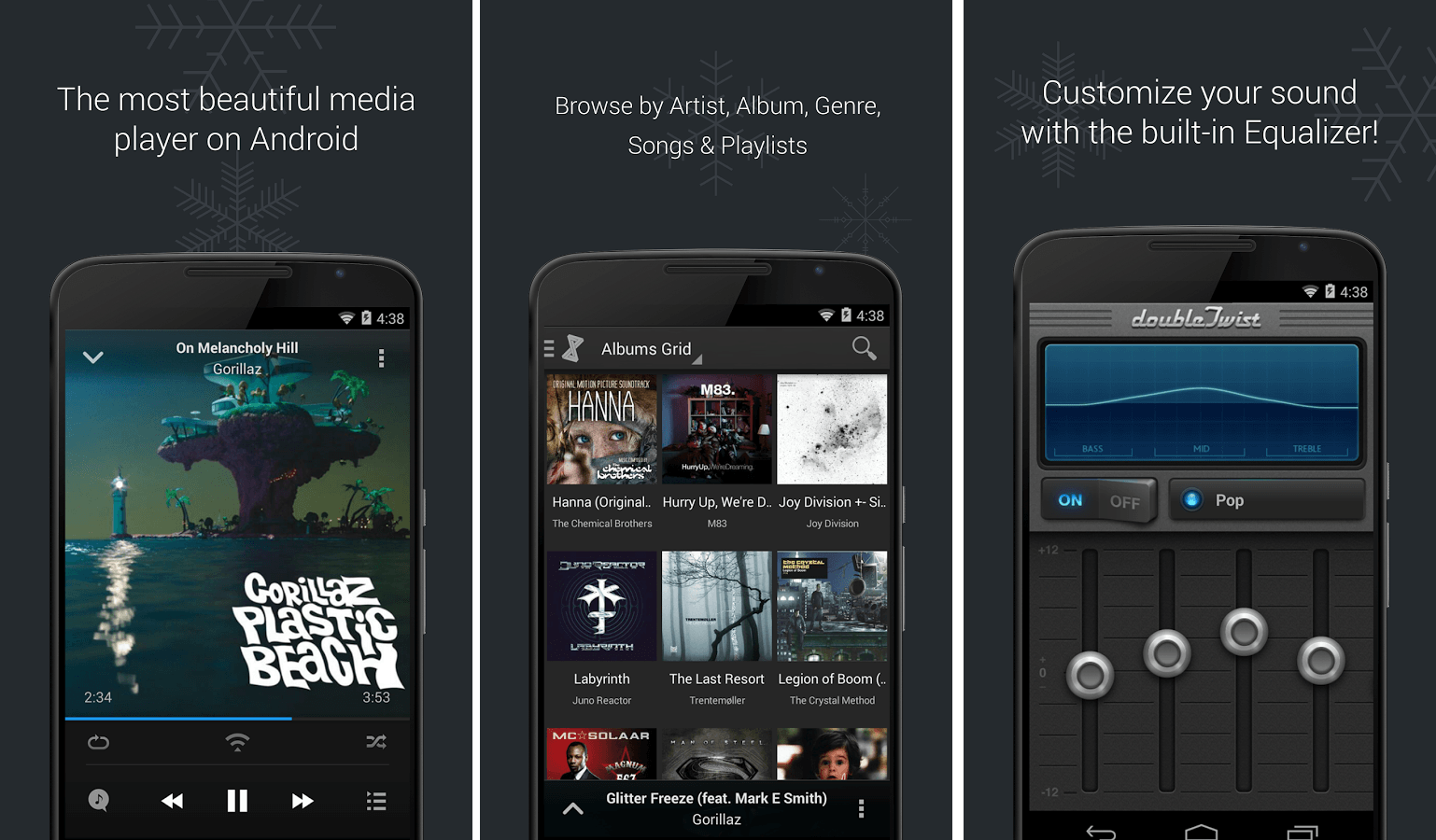 Doubletwist music player