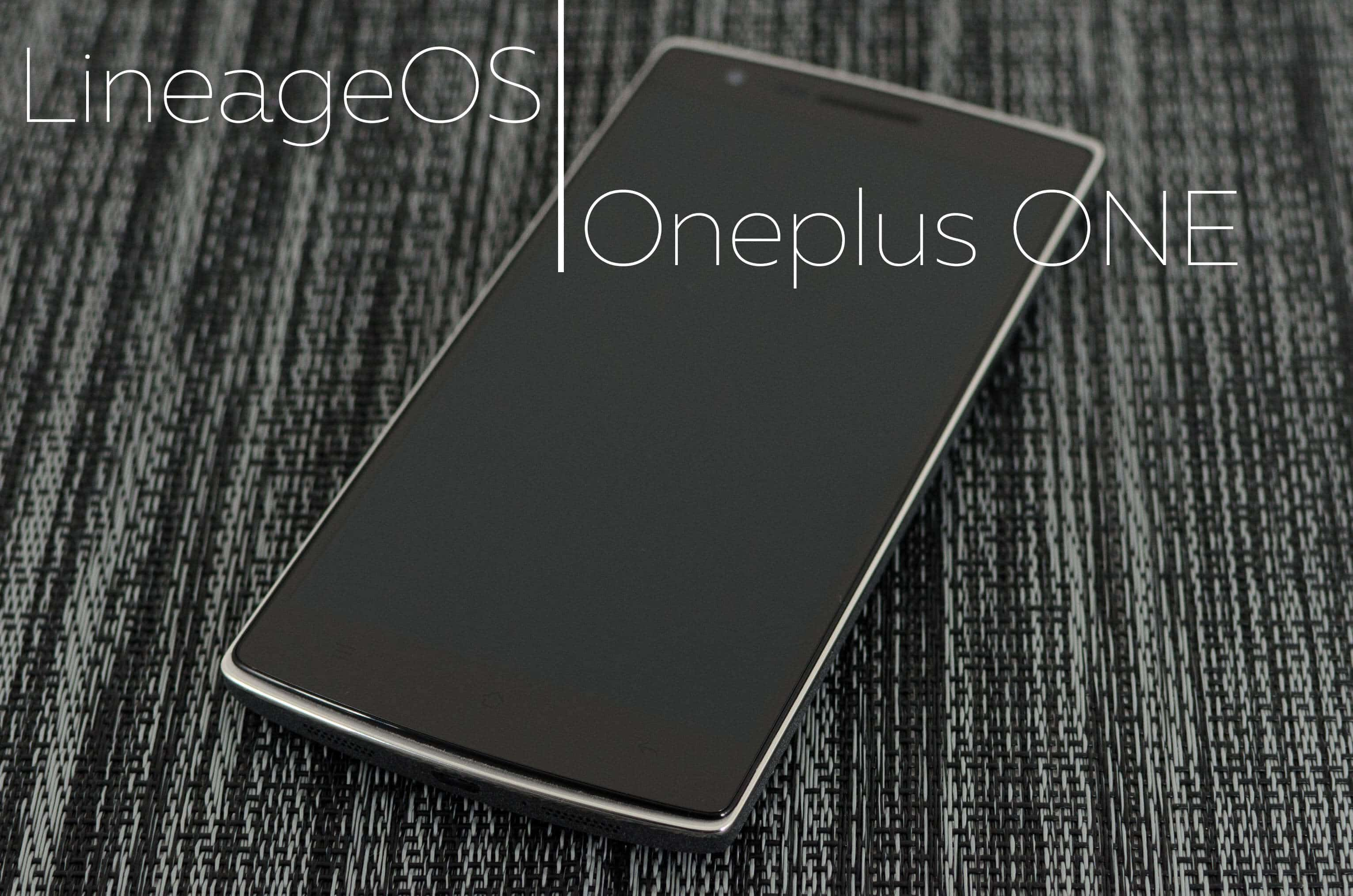 download Install LineageOS on Oneplus one